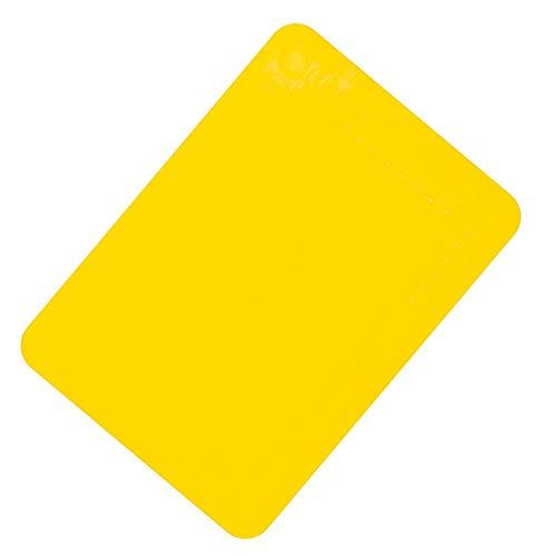 Aidapt Vm985by Tischset aus rutschfestem Silikongummi – Gelb – Größe 25 x 18 cm