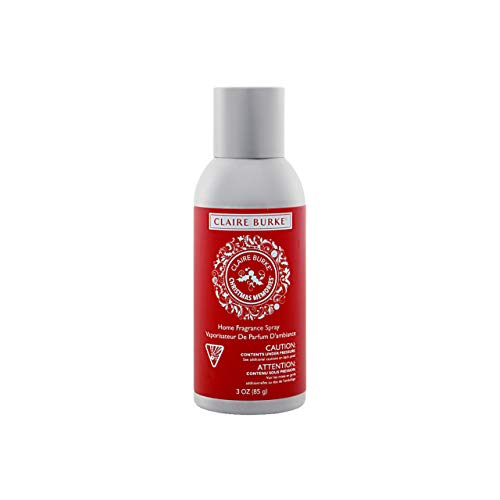 Claire Burke Christmas Memories Room Spray 1 Count Holiday Fragrance 3 Ounces