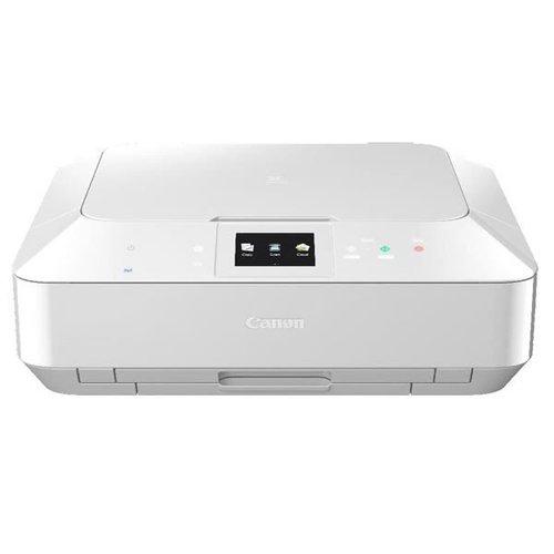 Canon PIXMA MG7150 Multifunktionsgerät (Drucker, Kopierer, Scanner, USB, WLAN) weiß