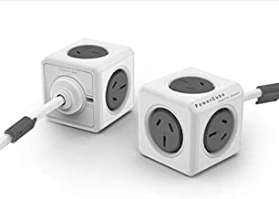 Allocacoc POWERCUBE Extended Grey-5 Outlets- 1.5m Cable, 5300GY/AUEXPC