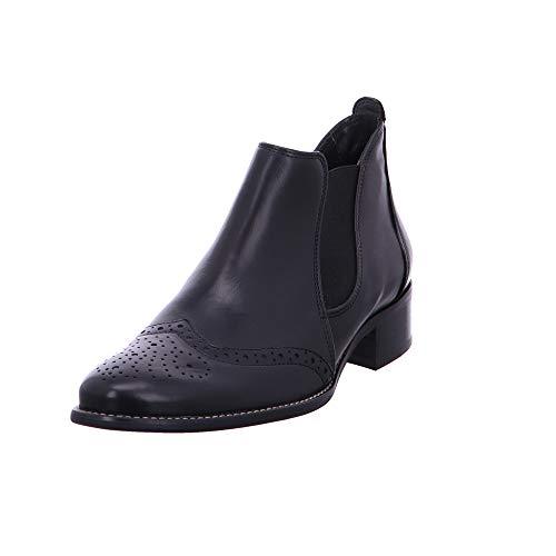 Paul Green Damen Stiefeletten Eleganter Chelsea-Boot 7358-113 schwarz 24547