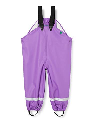 Fred'S World By Green Cotton Rainwear Set Star Veste Imperméable, Violet (Purple 018363301), 98 Bébé Fille