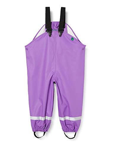 Fred'S World By Green Cotton Rainwear Set Star Veste Imperméable, Violet (Purple 018363301), 95 (Taille Fabricant: 80) Bébé Fille