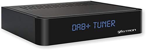 Vistron Youtune 1 DAB+ Radiotuner, digitaler DAB Radioadapter (HiFi Anlage + AV Receiver Erweiterung), FM / UKW Radio, Digitalradio