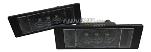 CREE Power LED SMD Kennzeichenbeleuchtung Schwarz BLACK EDITION CANBUS SET2