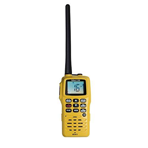 VHF RT411 PORTABLE NAVICOM 6W ETANCHE FLOTTANTE