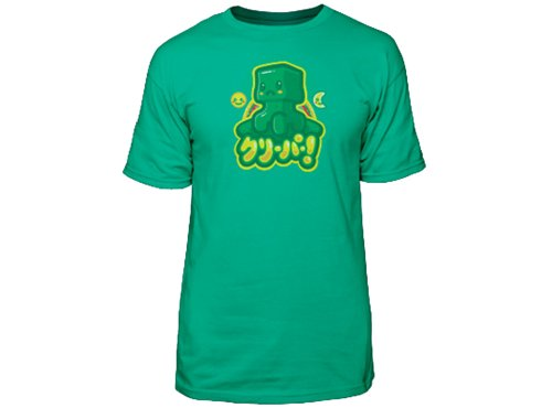 Minecraft Kawaii Creeper Premium Men's T-Shirt Large