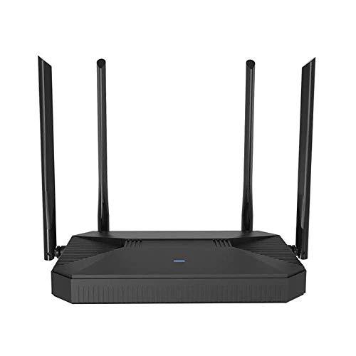 KuWFi 300Mbps enrutador Wi-Fi móvil 4G para Interiores Cat4, enrutador SIM 4G LTE con Puerto LAN/WAN Enrutador de Banda Ancha, Compartir 30 usuarios