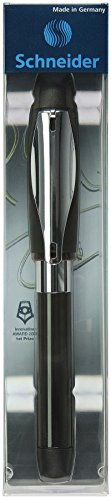 Schneider ID Fountain Pen for Left-Handed Writers Black and Chrome