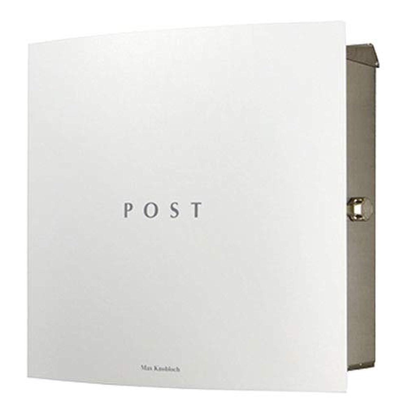 男らしさキャッシュ財布マックスノブロック ボン 右ロック ホワイト AAE37A 郵便ポスト 壁付けポスト