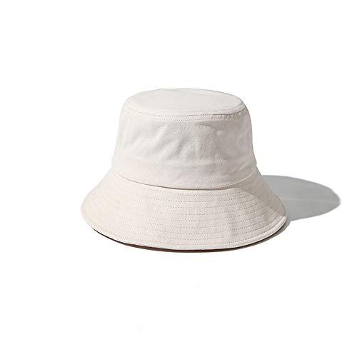 Lanly Fischerhut Sonnenhut Einstellbar Unisex Herren Damen Safari Hut 100% Baumwolle Wanderhut Buschhut Reise Outdoor (Beige)