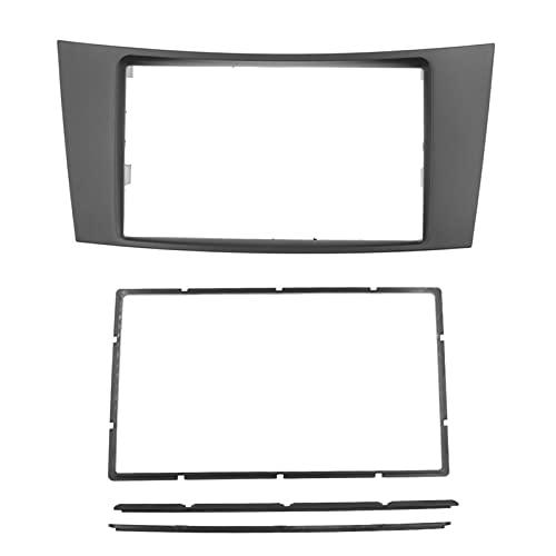 JIAYIN Toto Department Store - Radio de coche doble DIN para Mercedes BENZ E CLASS W211 CLS CLASS C219 DVD CD estéreo Trim Panel Dash Kit placa frontal