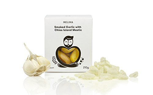 Melima geräucherter Knoblauch mit Chios Insel Mastix, 1er Pack (1 x 210 g)