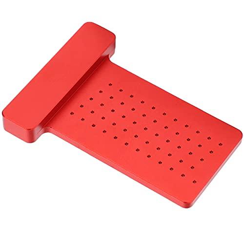 Trazador para carpintería, trazador de líneas tipo T Tratamiento de oxidación anódica Procesamiento flexible de alta verticalidad Conveniente para marcado estable para carpintero