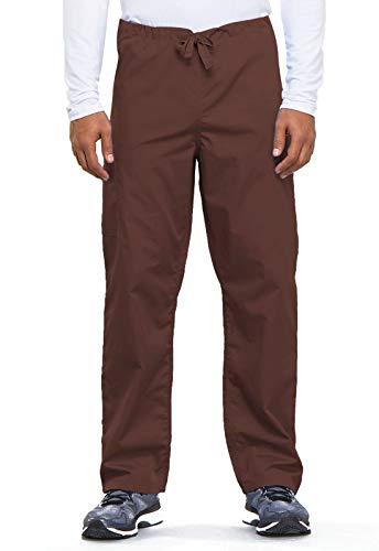 Cherokee Originals - Pantalones unisex con cordón de carga, talla pequeña, color azul, XS