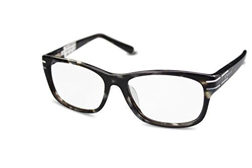 TAG Heuer Unisex Kunststoff Brillengestell TH0534 col. 002 braun grau gemustert