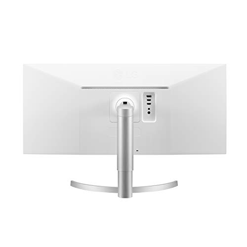 LG 34WN650-W 34-Inch 21:9 UltraWide Full HD (2560 x 1080) IPS Display with VESA DisplayHDR 400 and AMD FreeSync, Silver