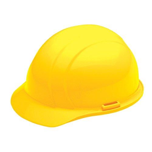 ERB 19762 Americana Cap Style Hard Hat with Slide Lock, Yellow