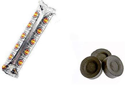 10 Stück Kohle Kohle Kohle Shisha Pfeife Shisha Bakhoor Kohle Stiftscheiben Rollen Tabletten Sheesha Nakhla