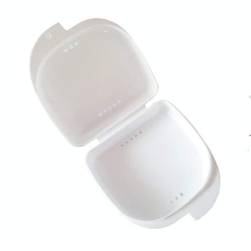 Rouku New Drop Shipping Gesundheit Dental Mundschutz Zahnersatz Aufbewahrungskoffer Box Container Mundpflege Qualität Neuankömmling