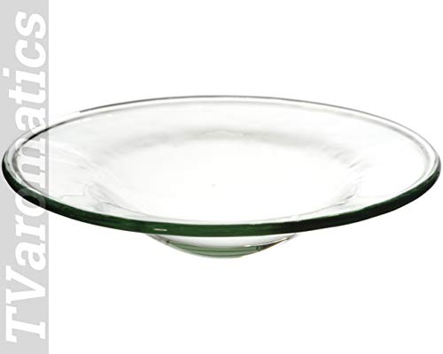 TVaromatics Small Clear Replacement or Spare Oil/Wax Dish for Aroma Lamps