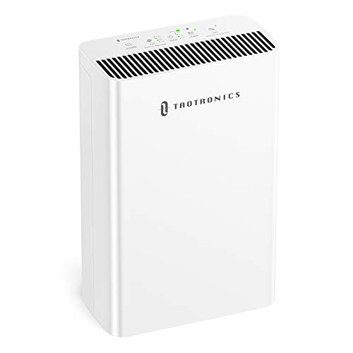 TaoTronics HEPA H13 Air Purifier for Home, Allergies Smoke Pollen Pets, Home Air Cleaner Filtration...