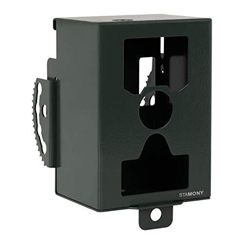 Stamony Caja De Seguridad para Cámara De Caza Protección Antirrobo ST-SB-1000 (para ST-HC-8000B, ST-HC-8000G, ST-5000LTEE, Espesor del Material: 3 mm, Material: Acero)