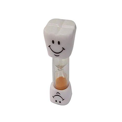 Alivier Cronómetro de Arena para Cepillado de Dientes para niños y Adolescentes Cronómetro de Cepillo de Dientes para niños 3 Minutos