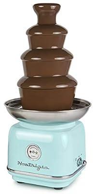 Nostalgia CLCF4AQ Retro Chocolate Fondue Fountain