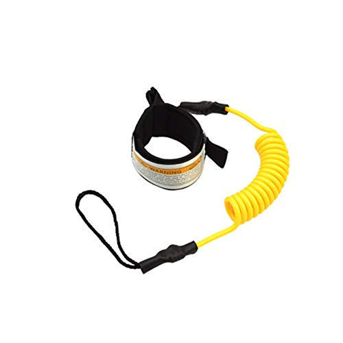 FANGff Surfboard Leash, Straight Surf Board Leg Rope, SUP Strap for Shortboard, Longboard, Paddleboard, Boogie Boards Replacement