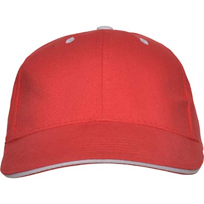 QCM Gorra Niño Personalizado Gorra Infantil Sombrero Personalizado Sombrero Niños Personalizado Niños Niñas Sombreros (Rojo)