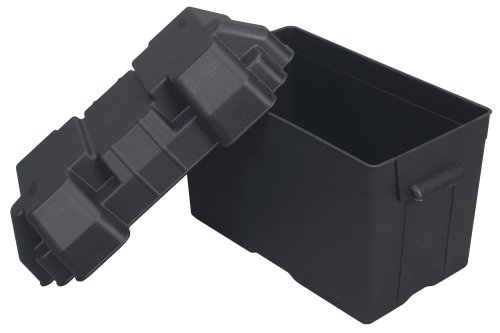 Moeller Injection-Molded Marine Battery Box (One 27, 30 or 31-Series Battery, 13.44' x 7.75' x 10.5')