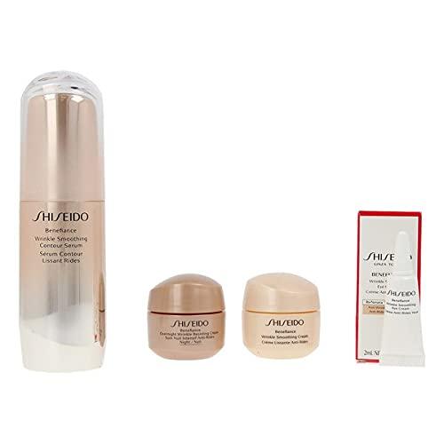 Shiseido 906-06963 Sérum Antiedad para Mujer Benefiance, Lote 4 Piezas