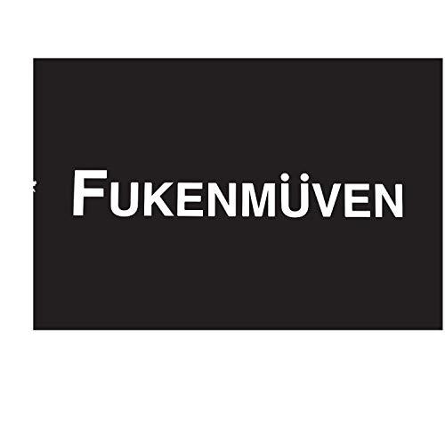 CLIFFBENNETT Cliffbennet Fukenmuven Tuner VW Euro 17,8 cm Vinyl Aufkleber Fensteraufkleber