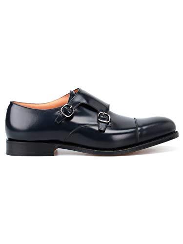 Church's Luxury Fashion Herren EOB0159XVF0ABM Blau Leder Monk-Schuhe | Herbst Winter 19