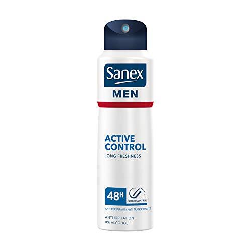 Sanex Men Active Control, Desodorante Spray 48h - 200 ml