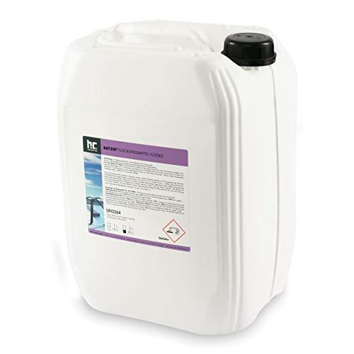 Höfer Chemie 20 L Pool Flockungsmittel flüssig BAYZID kristallklares Poolwasser - einfache Anwendung + hocheffektive Wirkung gegen Trübungen