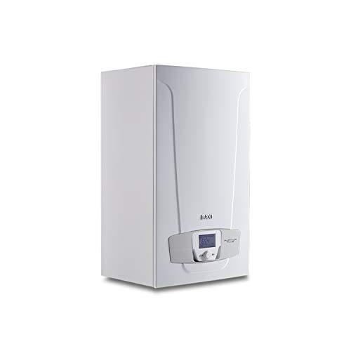 Caldera de condensación pack Platinum Max Plus 40/40F, con salida horizontal, control 3 zonas, interfaz de conexión inalámbrica, 34,5 x 45 x 76,3 centímetros (Referencia: 7223643)