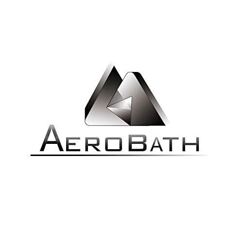 Aerobath Estantería de Ducha de Esquina con 4 Estantes ...