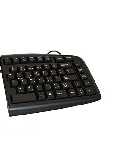Goldtouch GTN-0099 V2 Adjustable Ergonomic Keyboard -- PC Only (USB & PS2)
