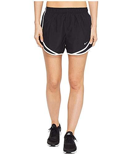 Nike Women's Dri-fit Tempo Track 3.5 Short (Black/White/Wolf Grey, X-Large)