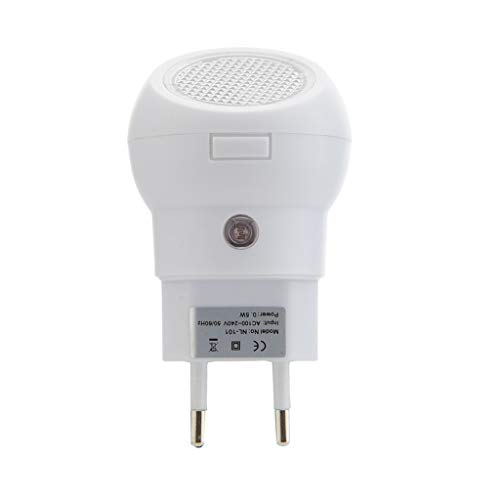 LED de nuit avec capteur lumineux peut pivoter de 360 ° Du crépuscule à l'aube du capteur Convient for Escaliers Salle de bain Coureur de Chambre Enfants adultes (Color : White)