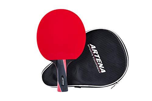 Artena Sports Equipment ITTF-zugelassener Tischtennisschläger • Premium Tischtennis-schläger mit Hülle • Tischtennis-Set • Perfekt für Anfänger und Fortgeschrittene Spieler