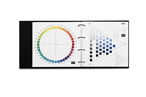 NCS Atlas | Carta de Colores Teoría del Color NCS | 1950 colores ordenados por familias cromáticas dentro del espacio del color Natural Colour System