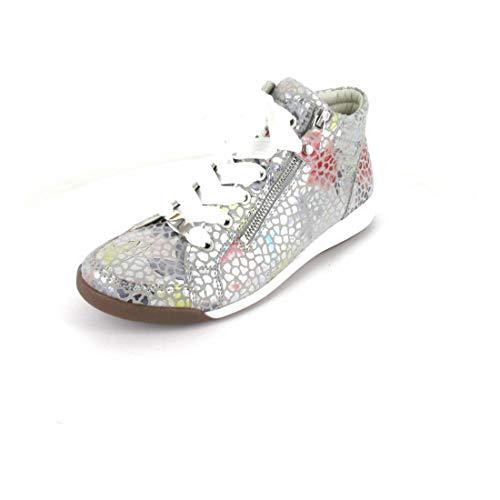 Jenny Damen Sneaker Scala-KONFETTI-O Grau Synthetik 37