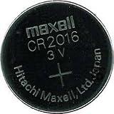 リチウムバッテリーHitachimaxell/日立マクセル ボタン電池 CR2016 [3V]日本製 1個バラ売り