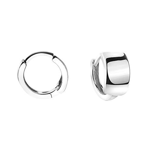 SOFIA MILANI - Damen Ohrringe 925 Silber - Creolen Klein Breit - 20824