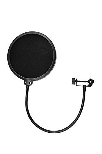TIE Studio 19-90001 - Filtro para micrófono con parabrisas Pop Máscara Escudo