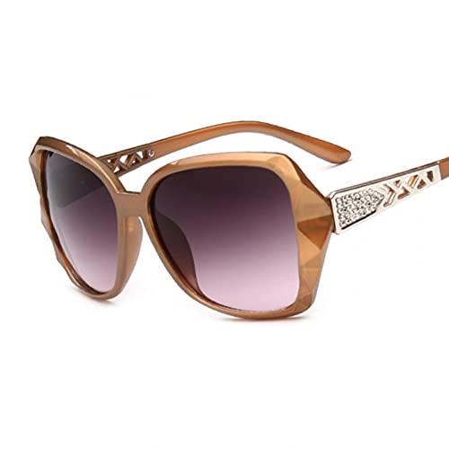 LUOXUEFEI Gafas De Sol Gafas De Sol Cuadradas Para Mujer Gafas De Sol Para Mujer Sombras Para Mujer
