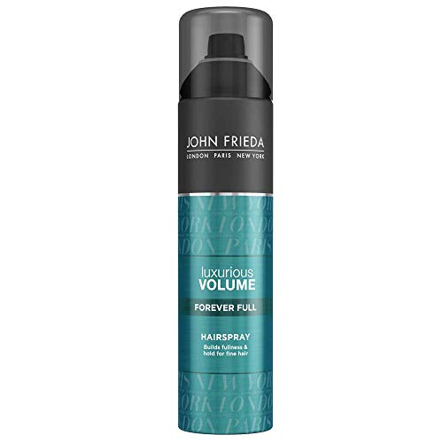 John Frieda Luxurious Volume Forever Full Hairspray for Fine Hair, 10 Ounce